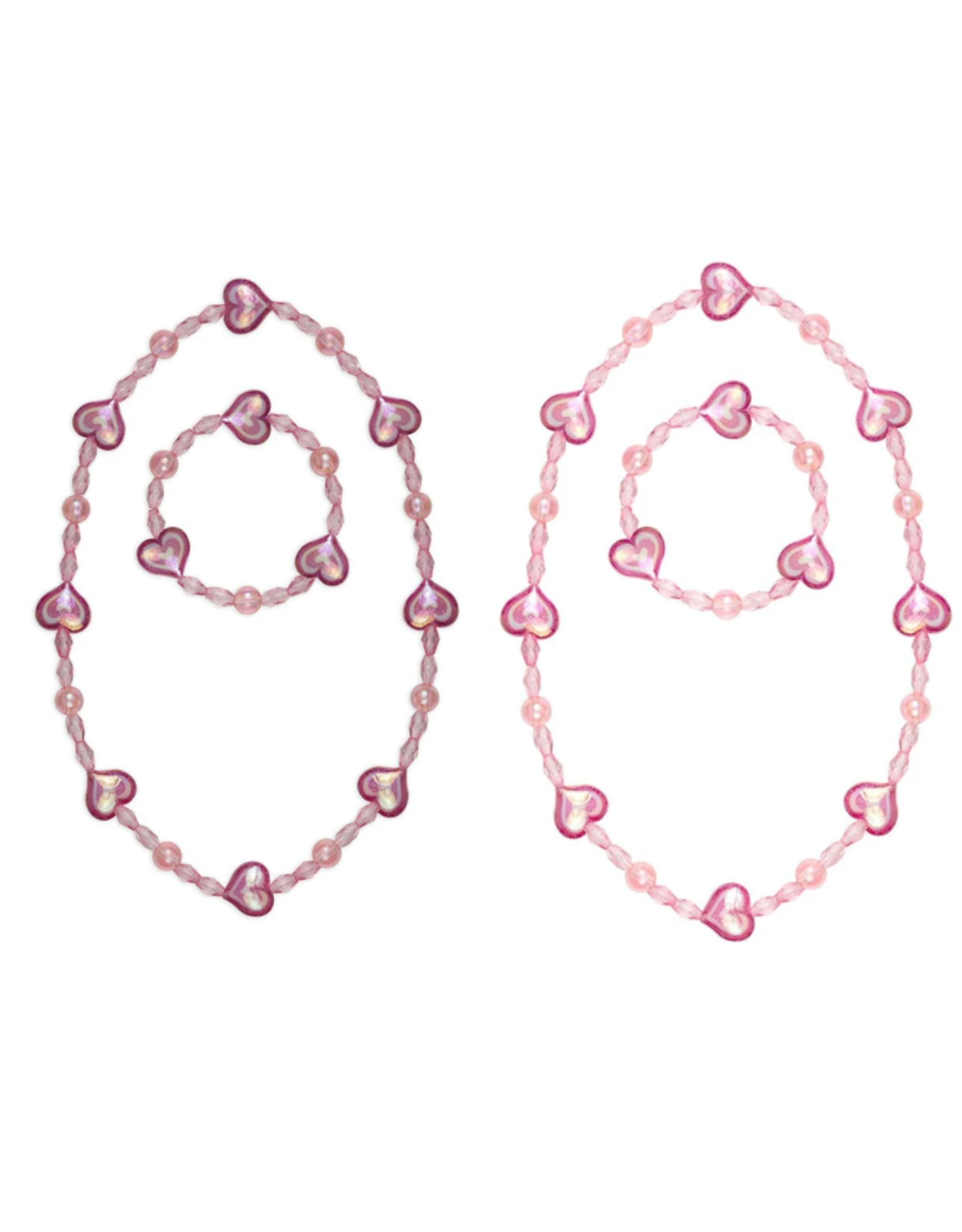 Great Pretenders Cotton Candy Necklace & Bracelet Set