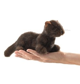 Folkmanis Mini Finger Puppet, Mink