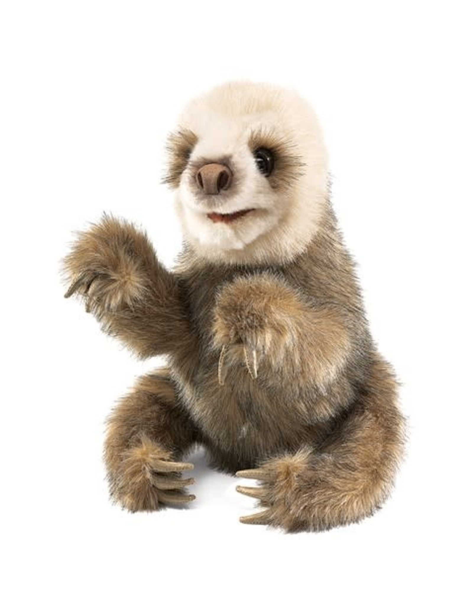ERZI Baby Sloth Hand Puppet
