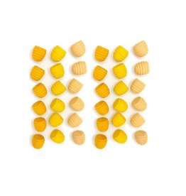 Grapat Wood Mandala Honeycomb 36 pcs.