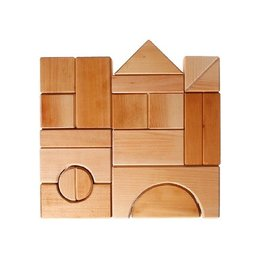 Grimm's Spiel & Holz Design Giant Building Blocks Natural 19 pcs.