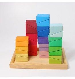 Grimm's Spiel & Holz Design Building Set Sloping Blocks