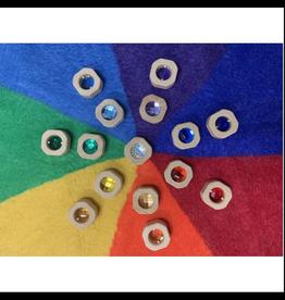 Papoose Coins Rainbow Set 15 Pcs.