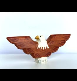 PoppyBaby Bald Eagle Figurine