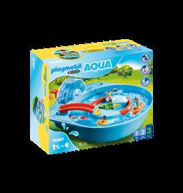Playmobil 1.2.3 Splish Splash Water Park