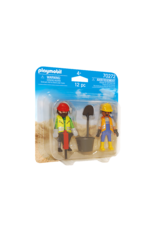 Playmobil DuoPack Construction Workers