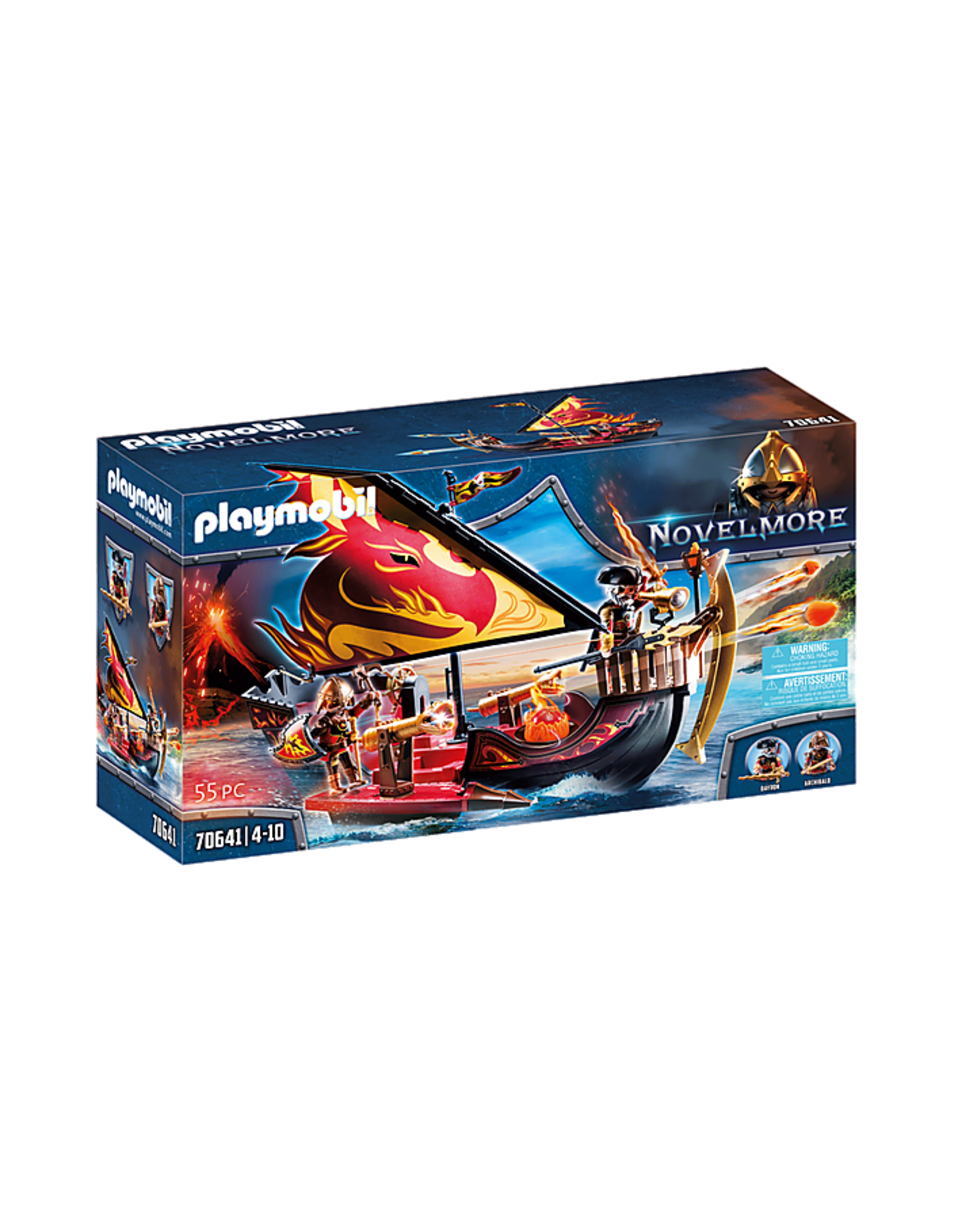 Playmobil Novelmore Burnham Raiders Fire Ship
