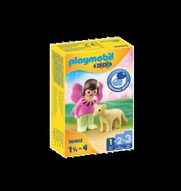Playmobil 1.2.3 Fairy Friend with Fox