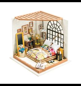 Hands Craft DIY Miniature Dollhouse Kit, Alice's Dreamy Bedroom