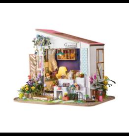Hands Craft DIY Miniature Dollhouse Kit, Lily's Porch