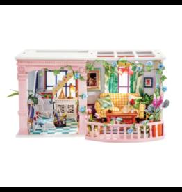Hands Craft DIY  Miniature Dollhouse Kit, Sweet Patio