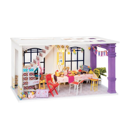Hands Craft DIY Miniature Dollhouse Kit, Party Time