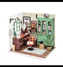 Hands Craft DIY Miniature Dollhouse Kit, Jimmy's Studio
