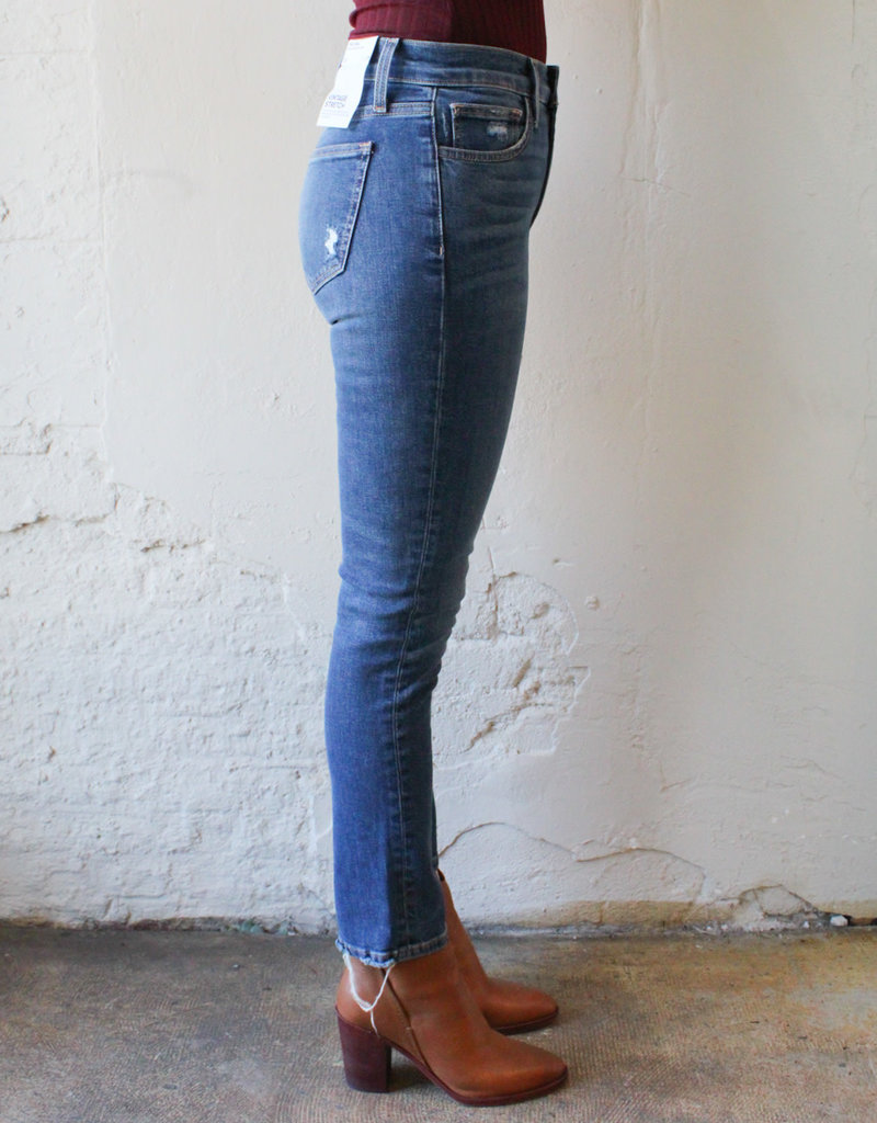 Joes Jeans Luna High-Rise Straight Leg Ankle