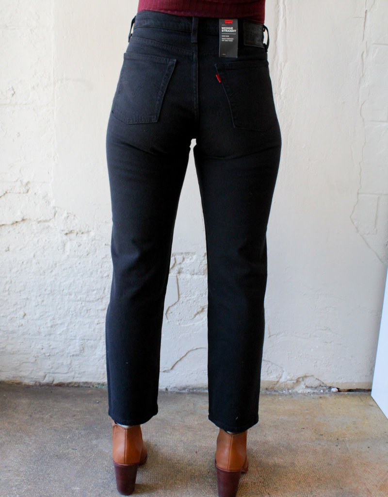 Levi Strauss & Co Wedgie High-Rise Straight Leg