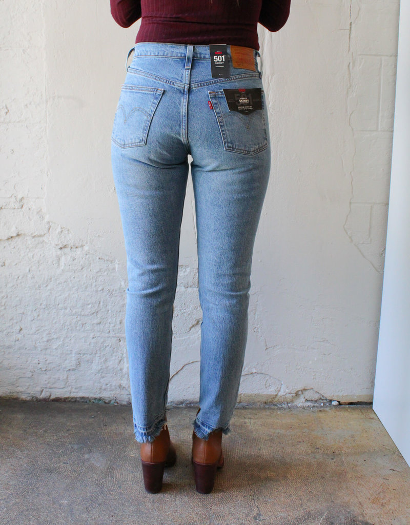 Levi Strauss & Co 501® High-Rise Skinny