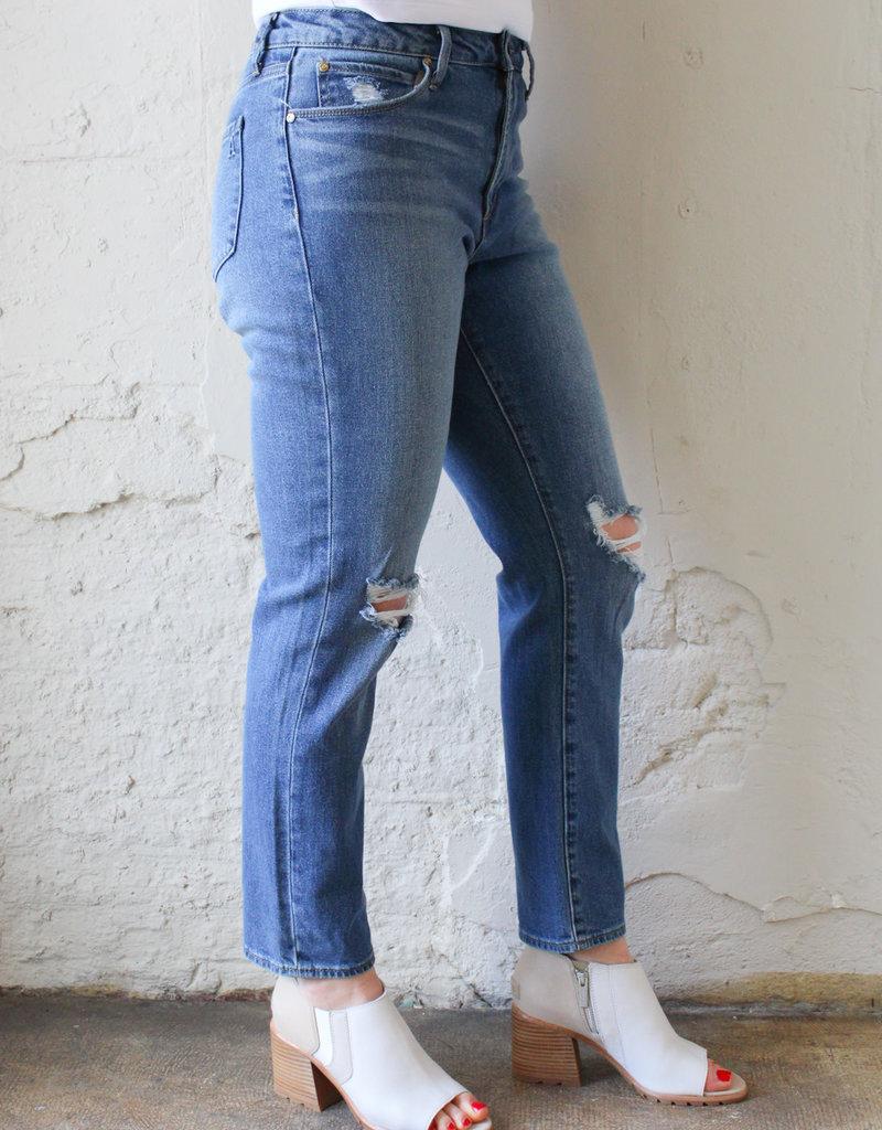 Article of Society Rene High-Rise Straight Leg