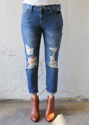 Dear John Denim Madison Mid-Rise Crop