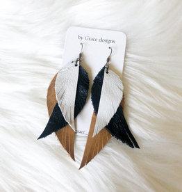 Jamie Williams Lilly 3-Tier Earrings