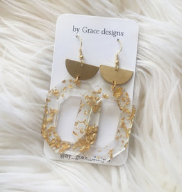 Jamie Williams Sophie Gold Fleck Earrings