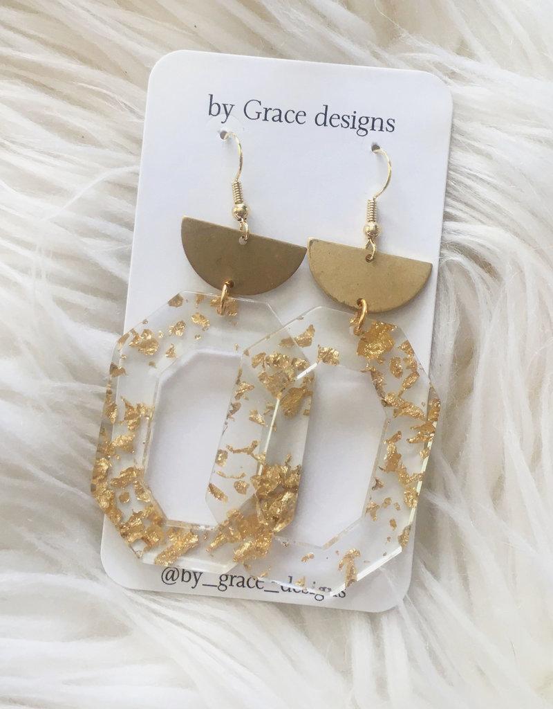 Jamie Williams Sophie Gold Fleck Earrings