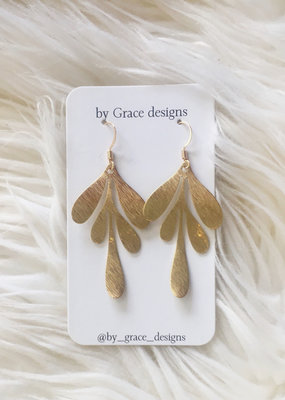 Jamie Williams Emma Brass Earrings