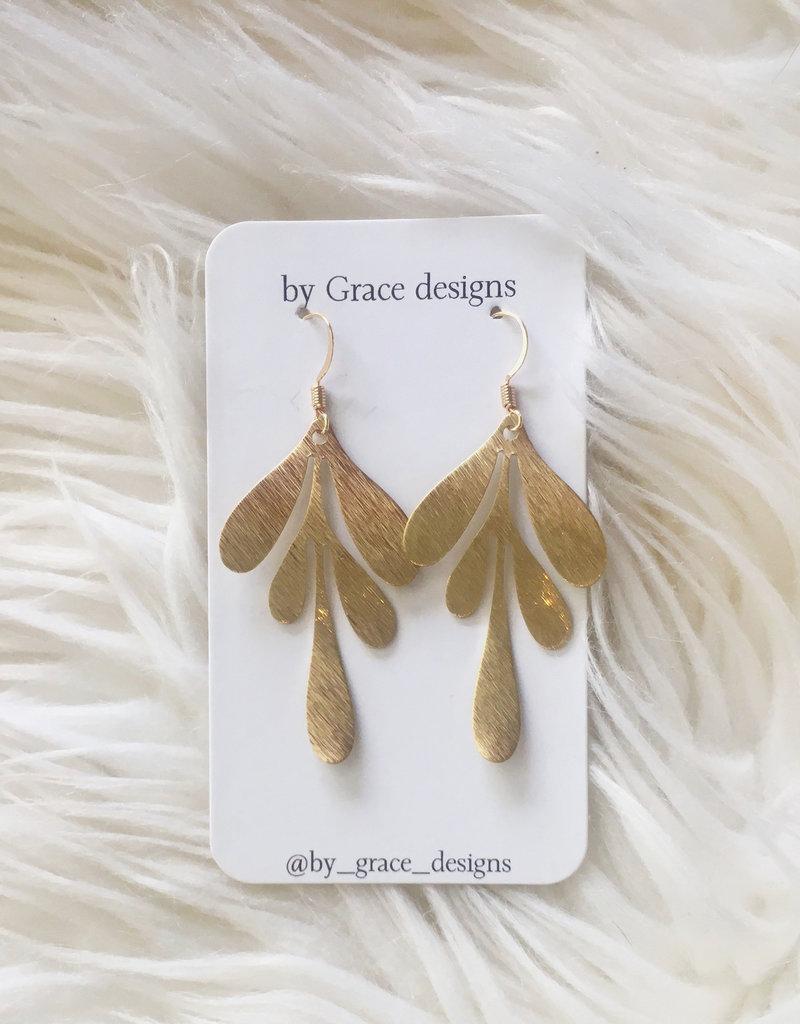 Jamie Williams Emma Brass Earrings