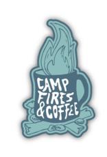 Stickers Northwest SNW-Camp Fires & Coffee Sticker