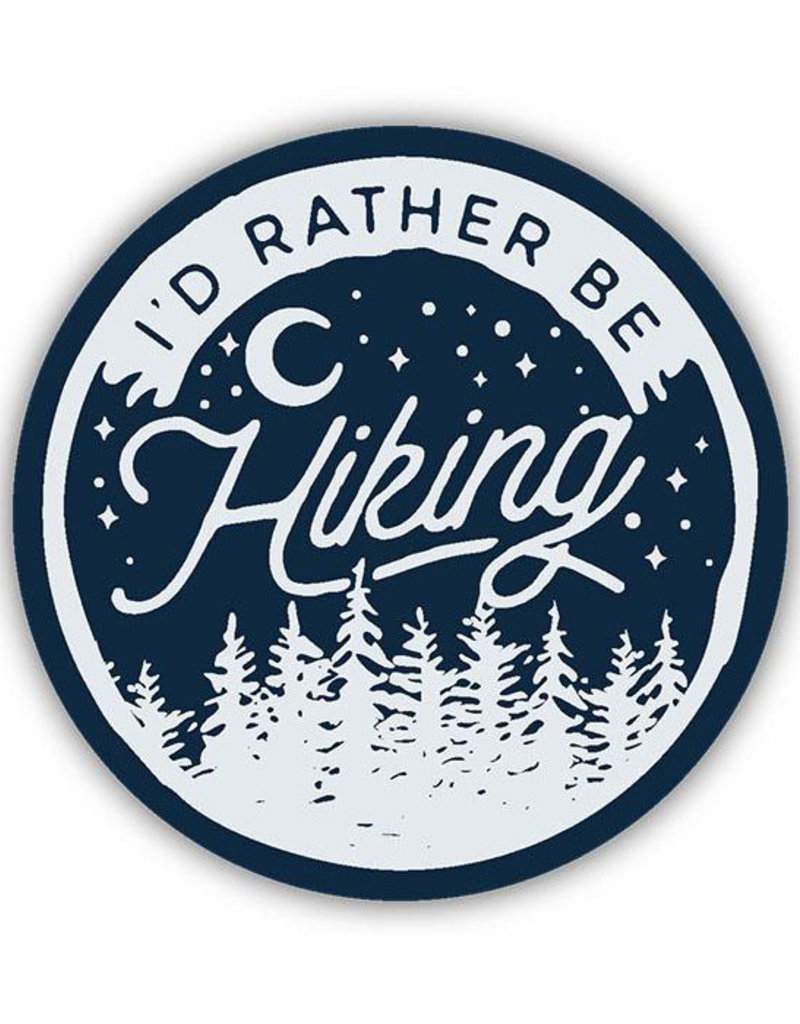 Stickers Northwest SNW-I'd Rather Be Hiking Sticker