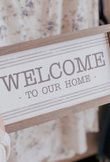 Collins Painting Welcome  Framed Sign