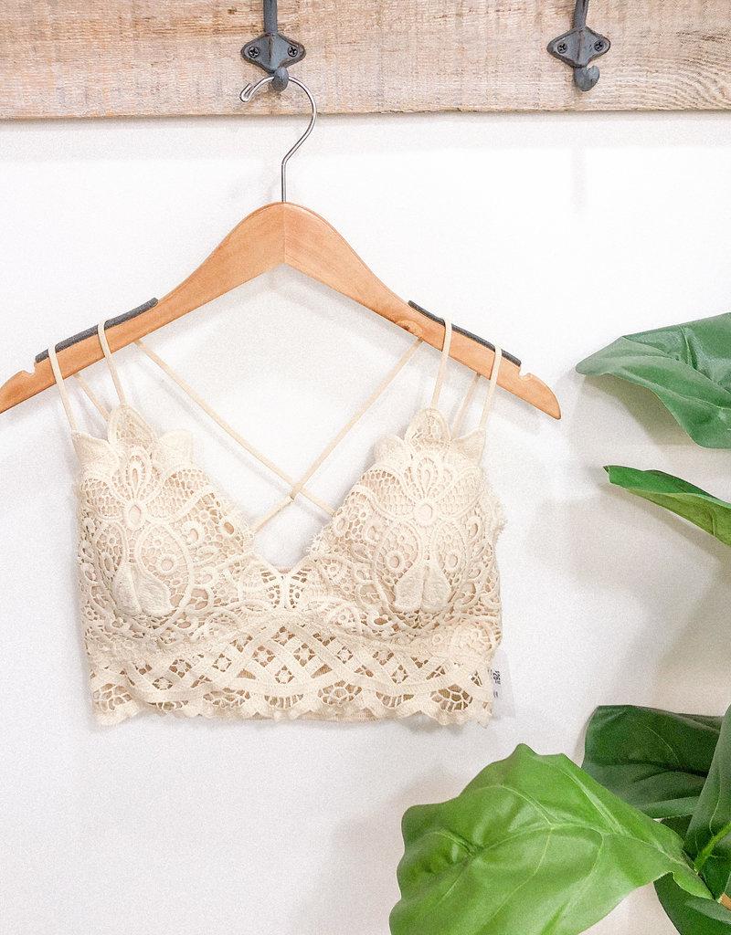 Hazel Crochet Bralette