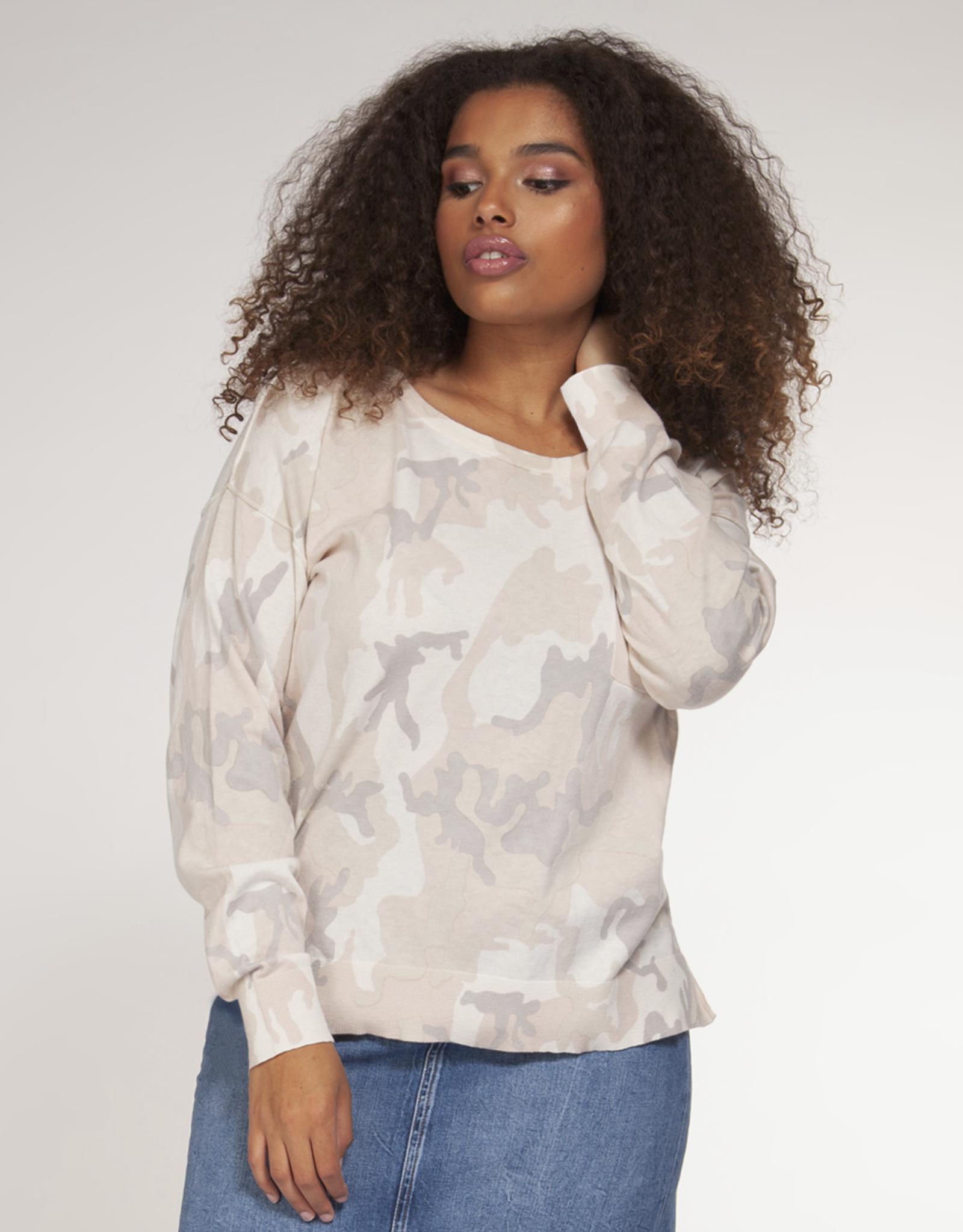 Dex Clothing Plus Camo Top