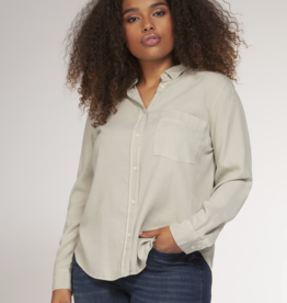 Dex Clothing Plus Button Down Blouse