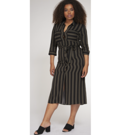 Dex Clothing Plus Shirt Dress