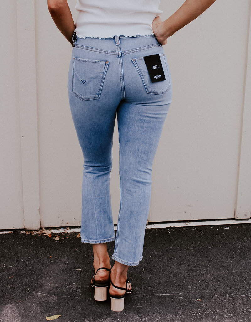 Hudson Holly High-Rise Cropped Bootcut