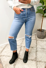 Levi Strauss & Co High-Rise Wedgie Straight Leg