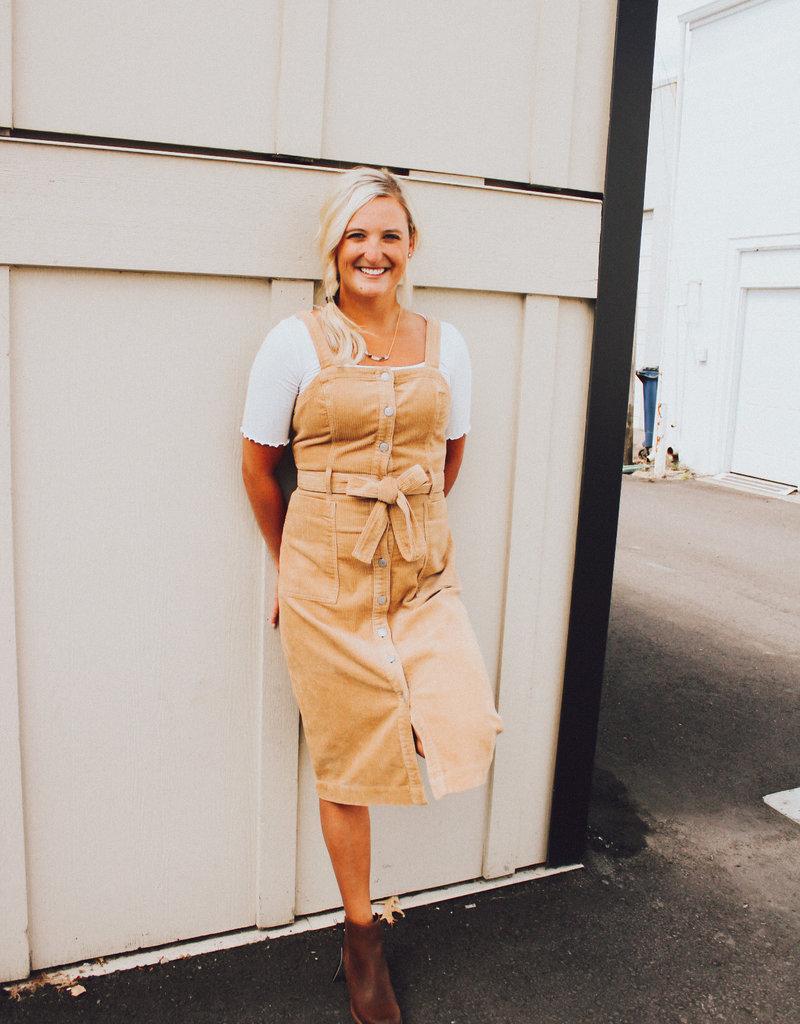 Levi Strauss & Co Calla Cord Dress