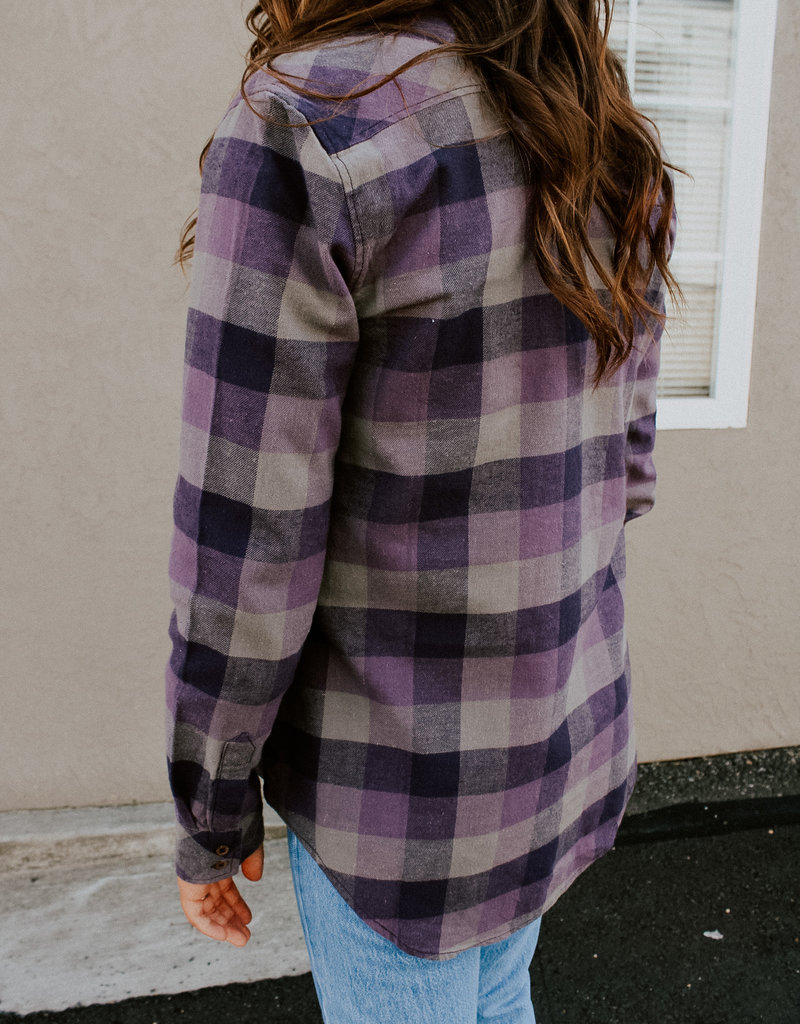 Tentree Lush Flannel Top
