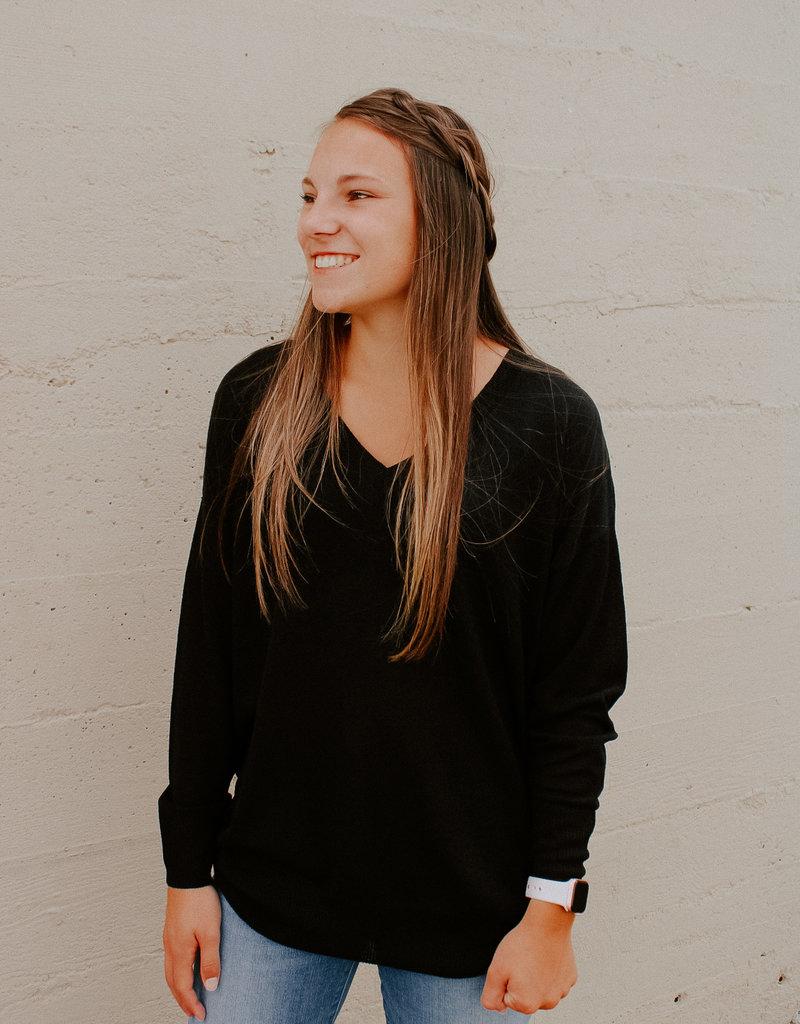 Dex Clothing Ayla V-Neck Pullover
