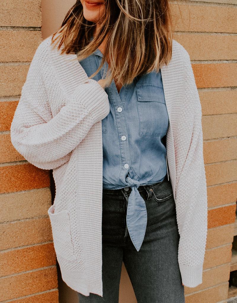 Dex Clothing Lorena Cable Knit Cardigan