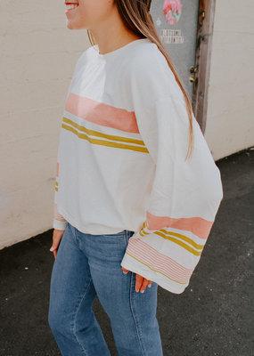 ZSupply Tera Stripe Pullover Top