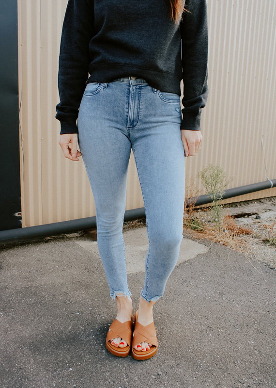 Joes Jeans Charlie High-Rise Ankle Skinny