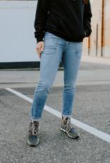 Joes Jeans Luna Patchwork High-Rise Straight Leg