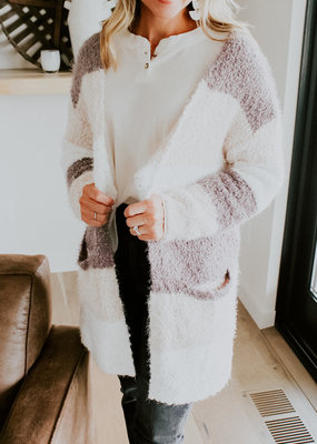 Wild Heart Nell Color Block Cardigan