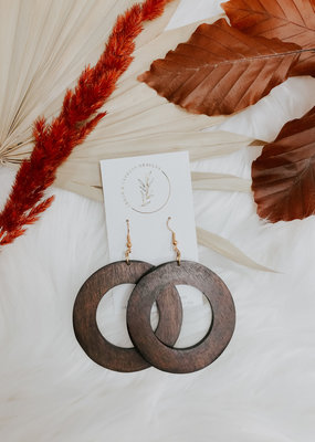 Makaya Mahogany Earrings