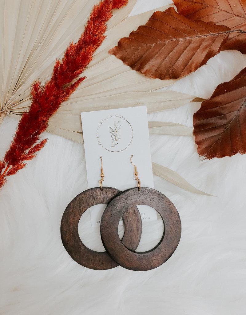 Makaya Mahogany Earrings
