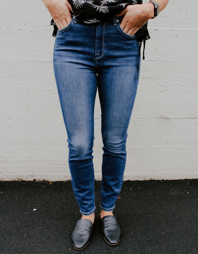 7 For All Mankind High Rise Ankle Skinny