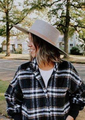 Dahlia Boater Hat
