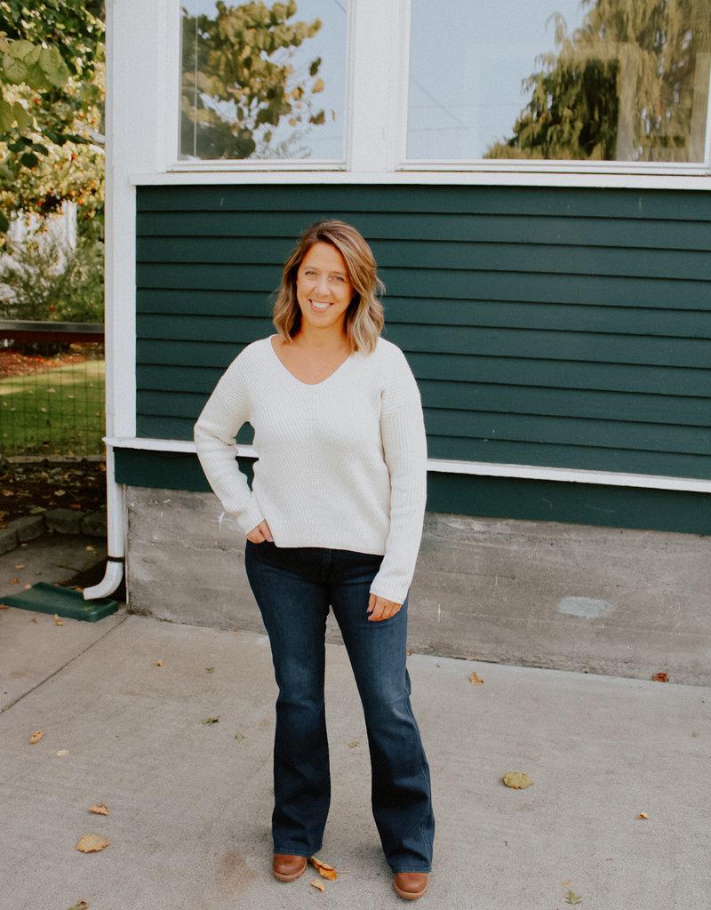 Tentree Highline Cotton V-Neck Sweater