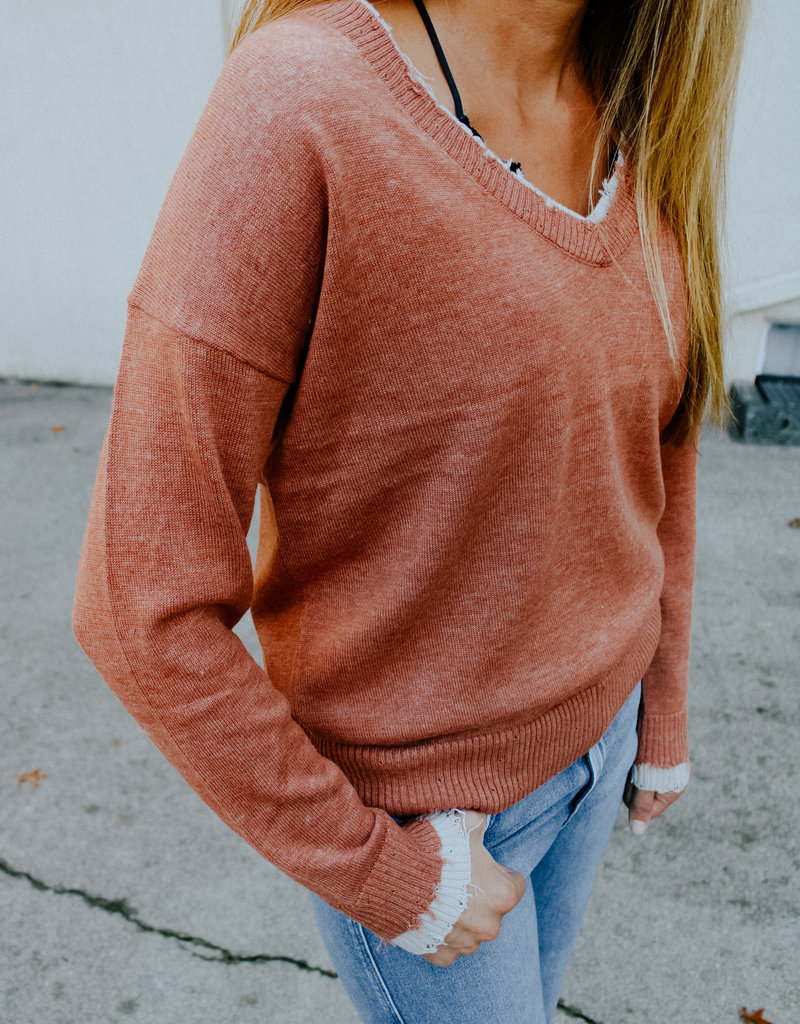 Dear John Denim Nadia V-Neck Sweater